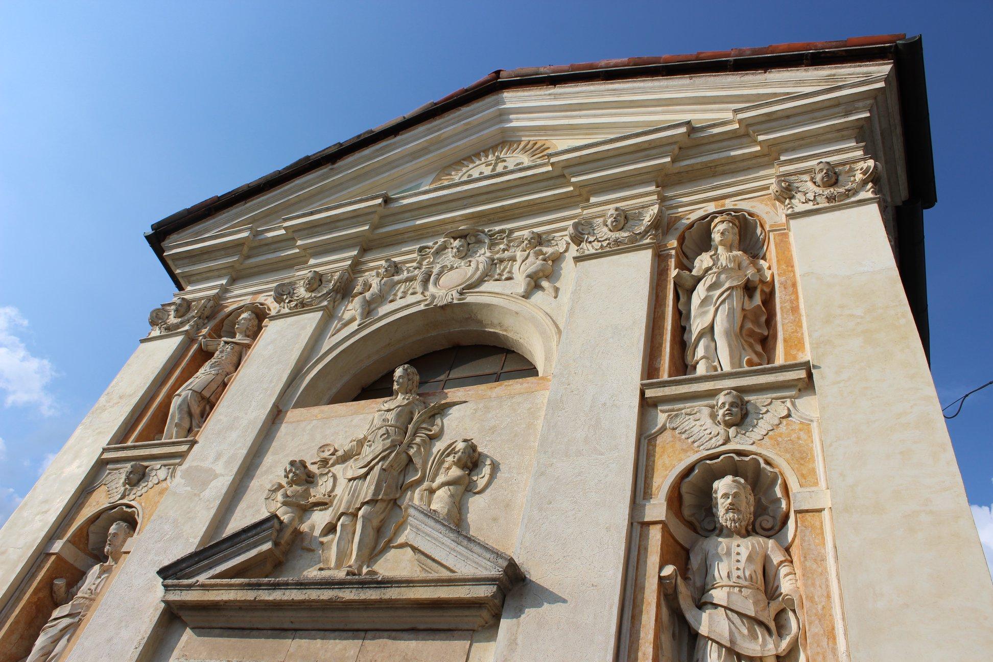 Chiesa di Cart Cesiomaggiore ph Sara Zaccaron