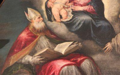 La pala del Colmeda Jacopo Bassano (1576)