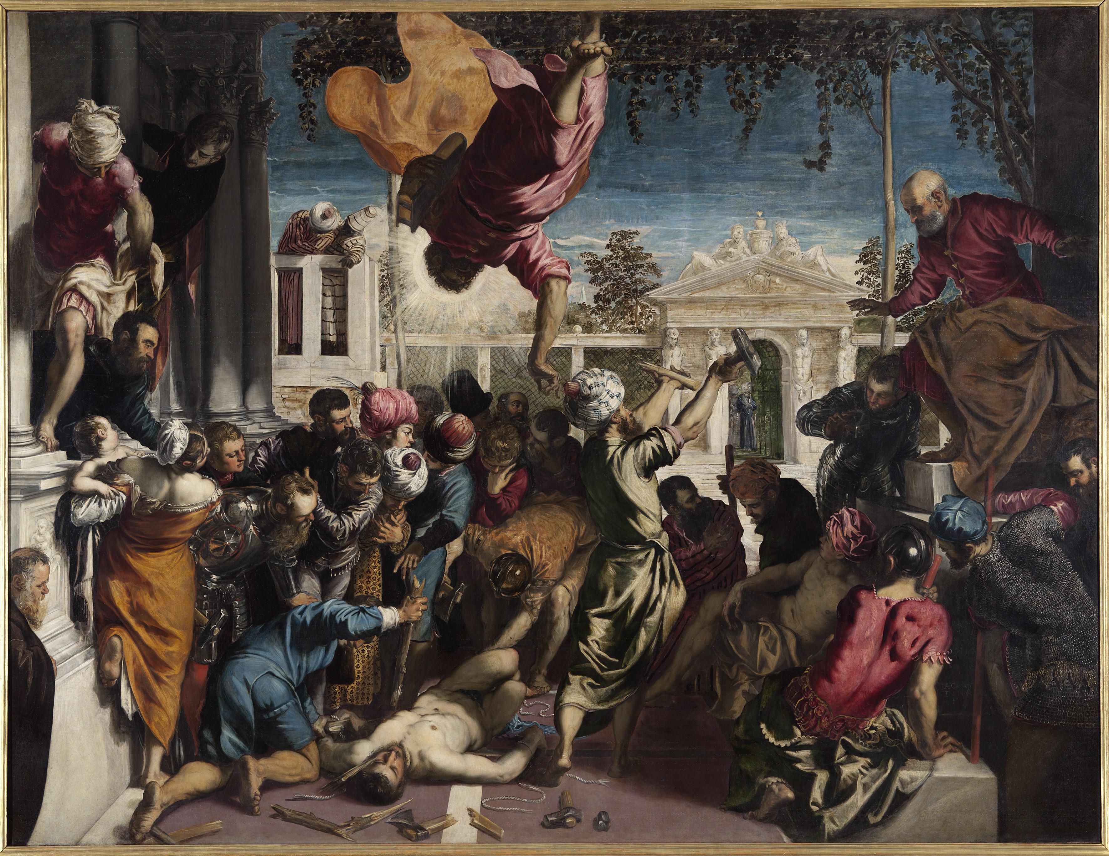 Robusti J. detto Tintoretto – Miracolo dello schiavo – cat. 42