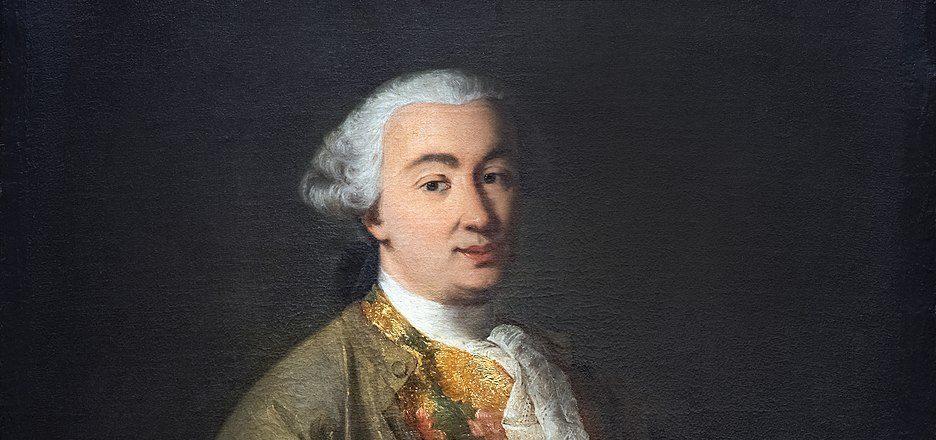 Alessandro Longhi – Ritratto di Carlo Goldoni (c 1757) Ca Goldoni Venezia