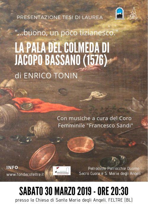 _Buono, un poco tizianesco_. La Pala del Colmeda di Jacopo Bassano (1576)